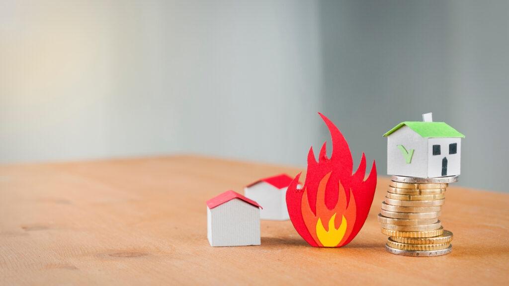 家が火事になってしまった場合